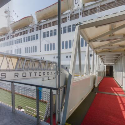Entree schip loopbrug in 360˚